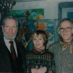 Александр и Валерий Трауготы с кузиной Мариной-min