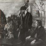 Александр и Валерий Трауготы с матерью Верой Яновой 2-min