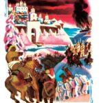 """Иллюстрация к книге С. Голицына """"Евпатий Коловрат"""". 1986"""