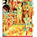 """Иллюстрация к книге О. Тихомирова """"На поле Куликовом"""". 1978"""